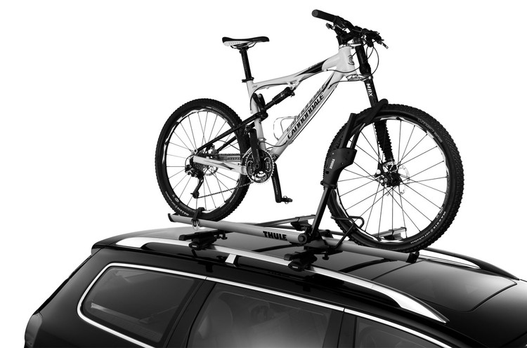 Thule Sidearm 594XT on a car