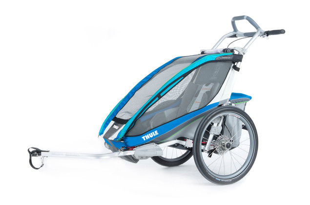 Thule Chariot CX1 Blue Bike