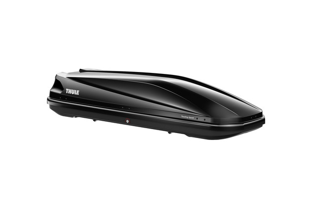Black roof box Thule Touring 600