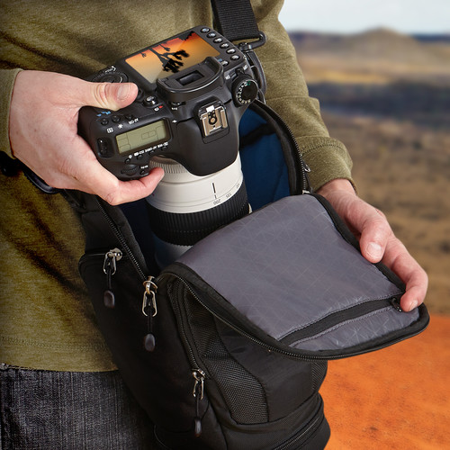DSH-103 Luminosity Prosumer DSLR Zoom Holster